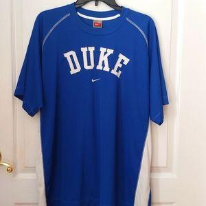 Nike Fit Dry DUKE BLUE DEVILS Sports Jersey. XL